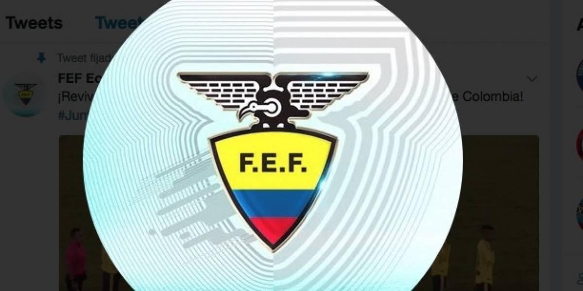 La Federación Ecuatoriana de Fútbol (FEF) ya renovó su logo ¿Lo notaste?