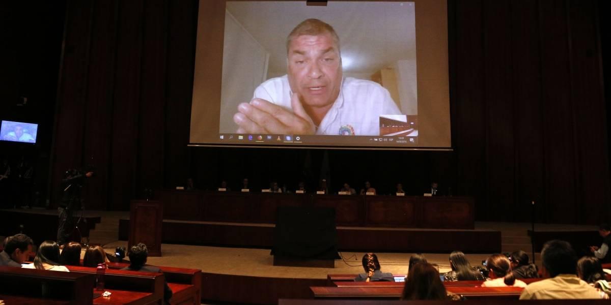 """Rafael Correa: """"Han pasado 23 días, y no aparecen las """"cuentas secretas'"""""""