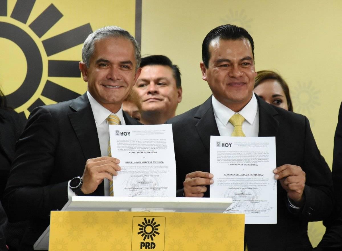 El anunció se dio a conocer este miércoles por el líder nacional de partido del sol azteca. Foto: Cortesía.