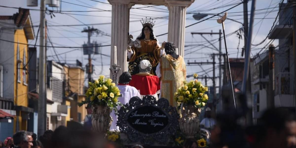 EN IMÁGENES. Así fue la procesión de la Virgen de la Asunción