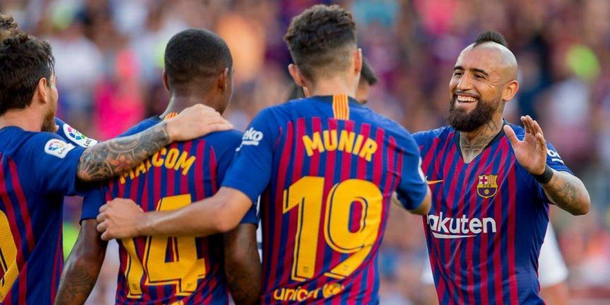 """Arturo Vidal no se achica y promete goles tras debutar en el Camp Nou: """"Será mi mejor año en lo ofensivo"""""""
