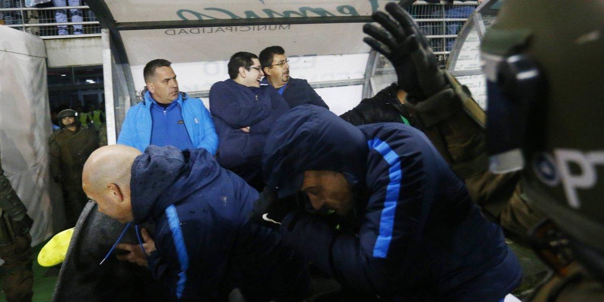 """""""Se las dan de ejemplo y no lo son"""": Los duros reclamos de San Lorenzo por los incidentes vividos en Temuco"""