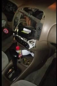 Daños ocasionados a un vehículo.