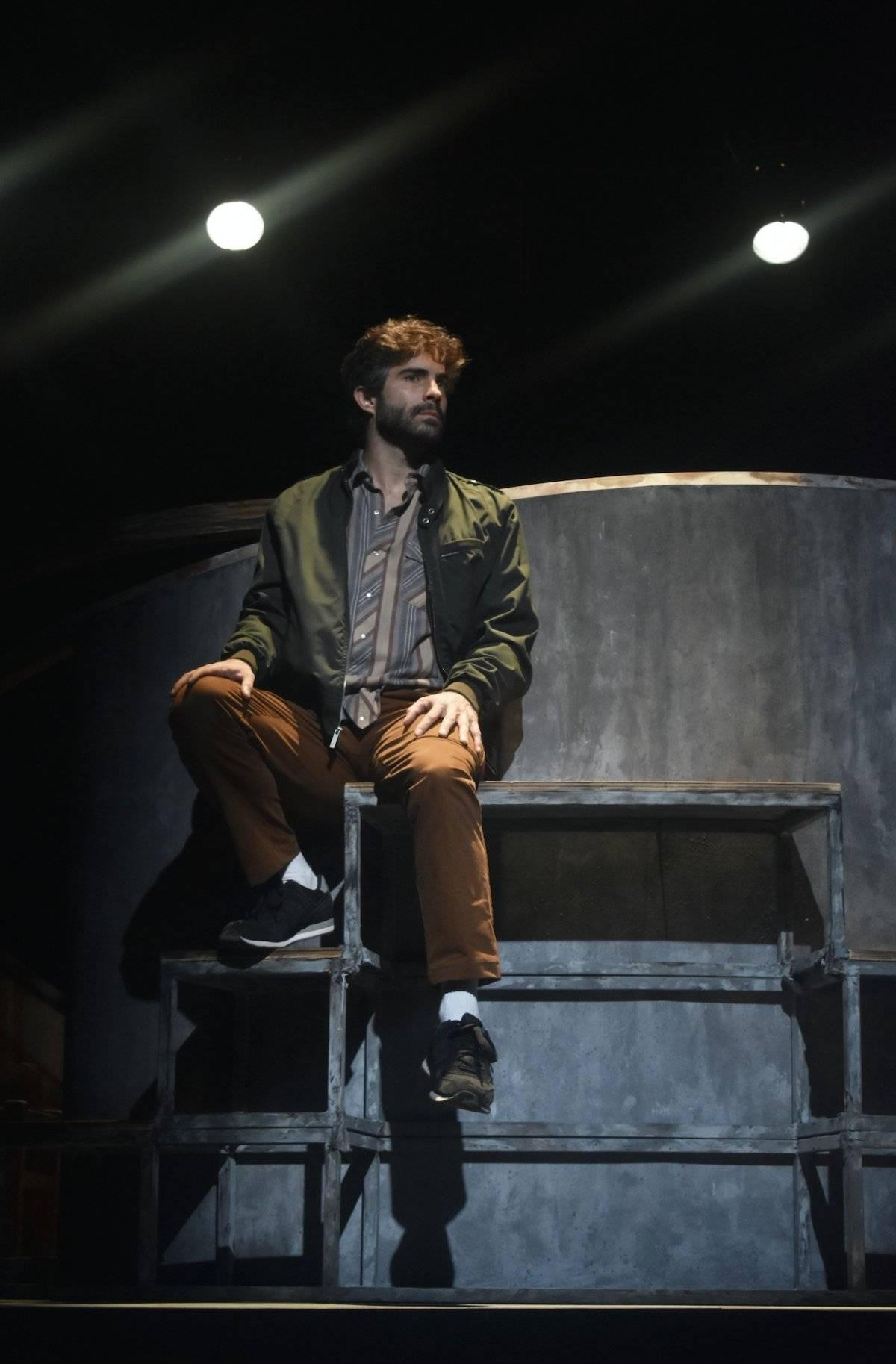 """Osvaldo Benavides interpreta a Richard en """"Donde los mundos colapsan"""" Cortesía"""