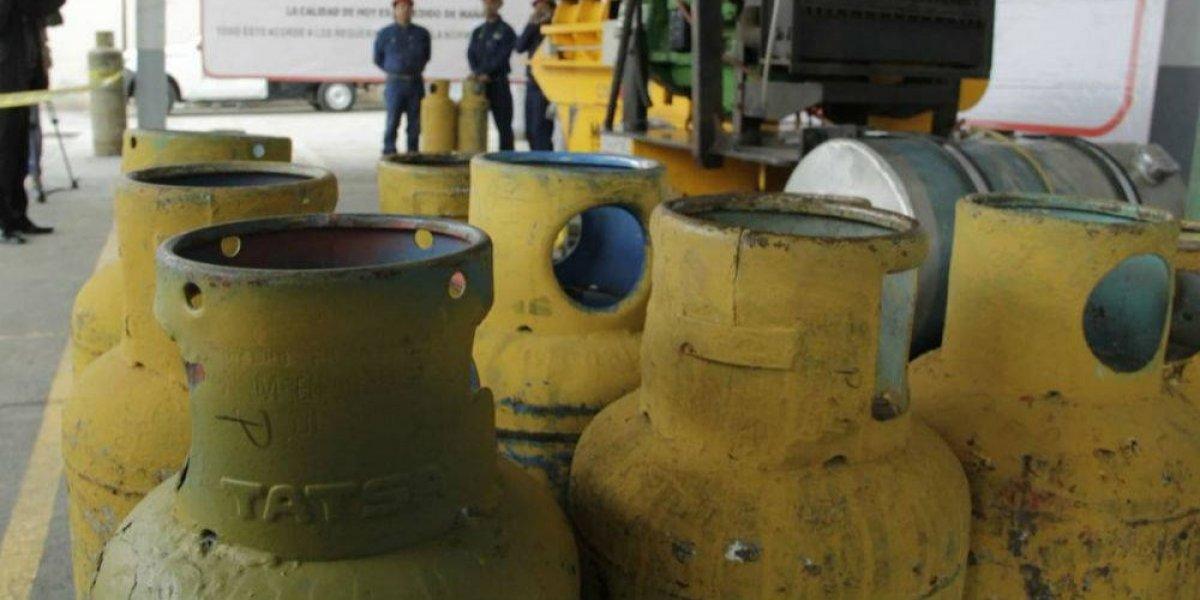Con 25 mdp cambiarán tanques de gas en mal estado