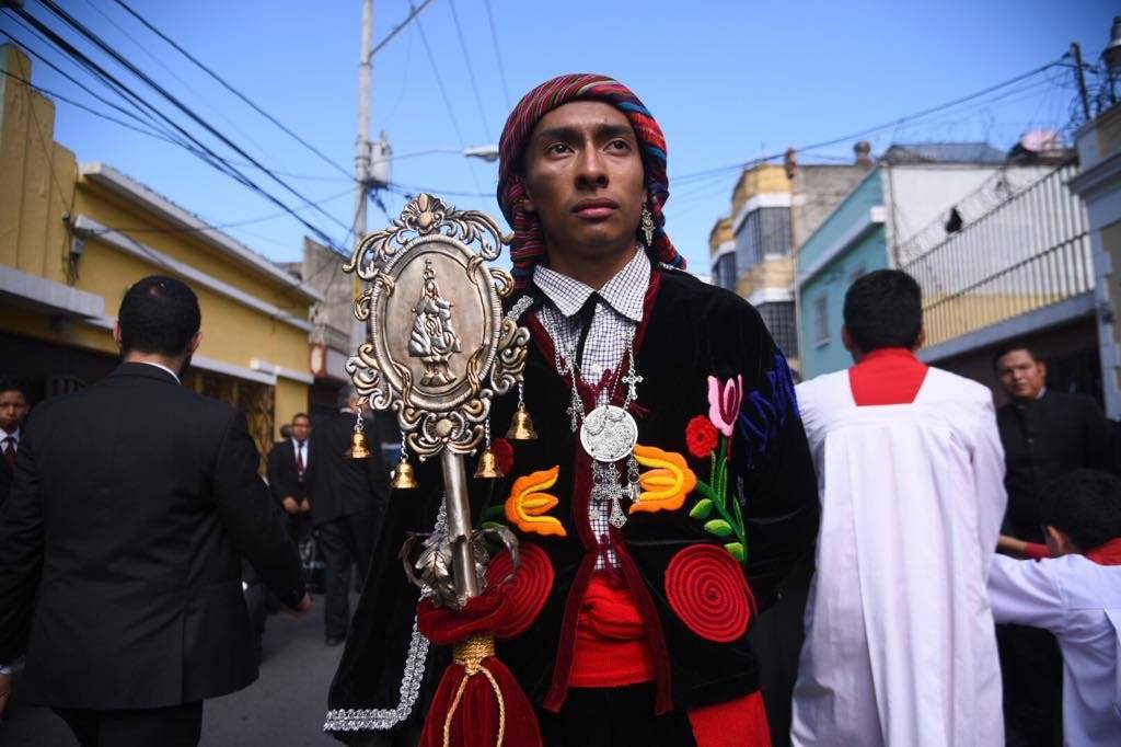 Procesión de la Virgen de la Asunción. Foto: Alejandro García