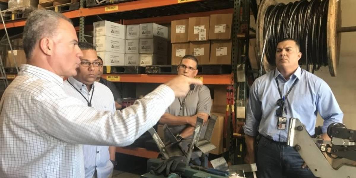 Realizan inspección ocular en almacén de la AEE en Ponce