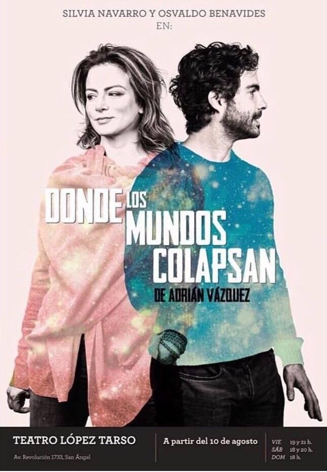 Donde los mundos colapsan es la historia de vida de Valeria y Richard, dos mundos que estaban destinados a encontrarse. Cortesía