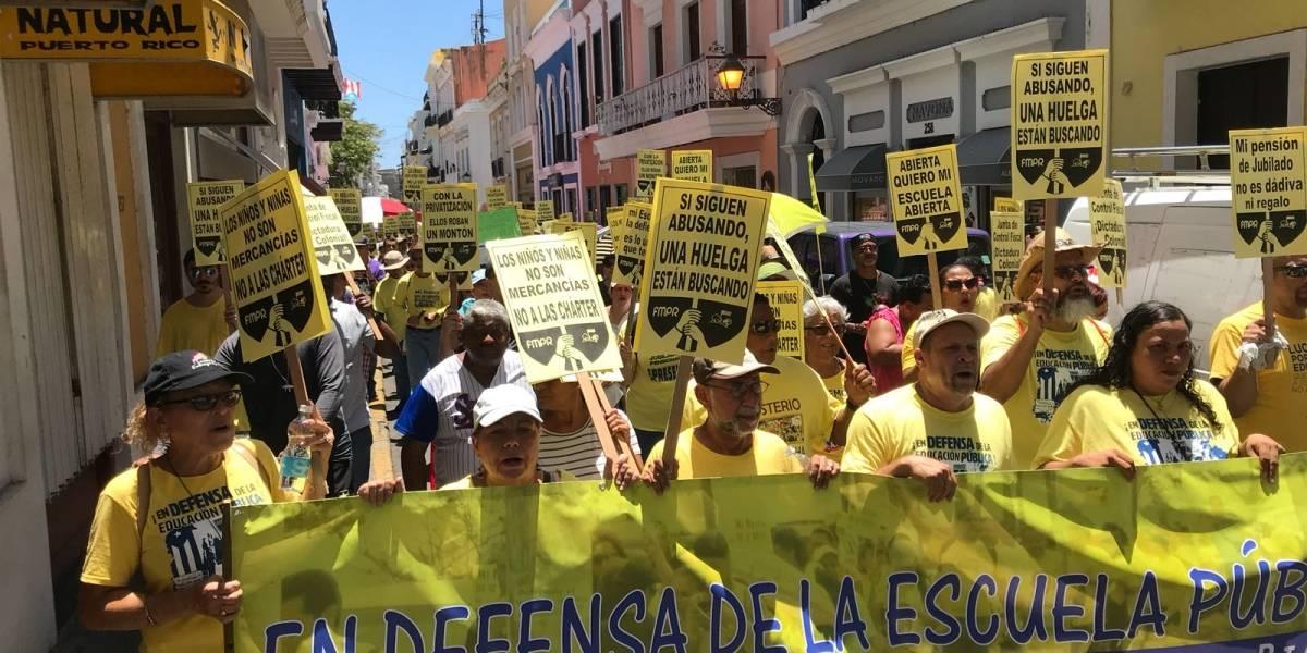 Federación de Maestros demanda a Educación por pago de salarios