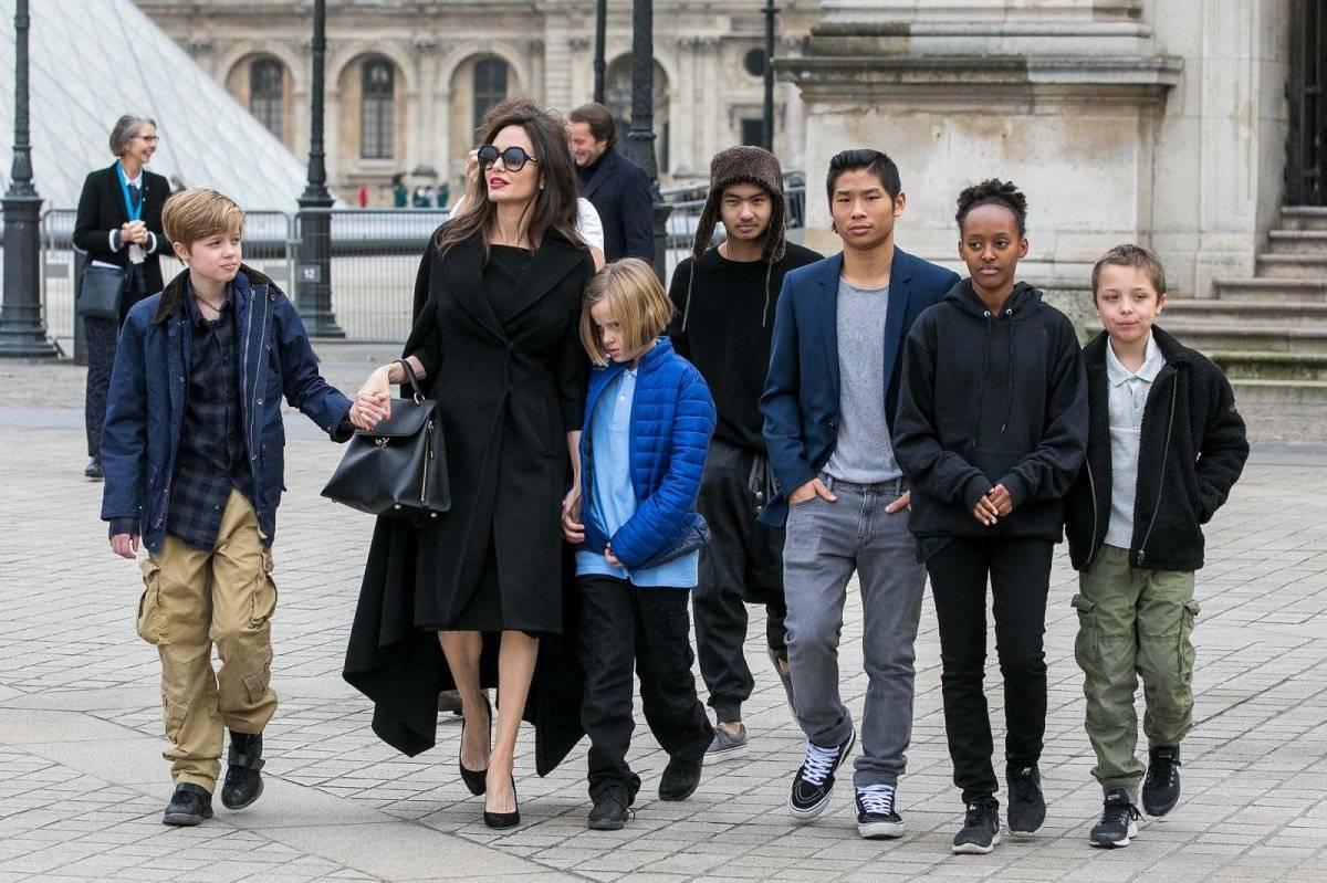 Angelina Jolie Familia