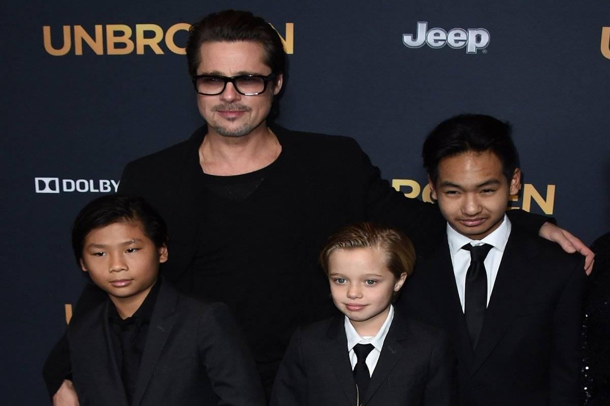 Brad Pitt Familia