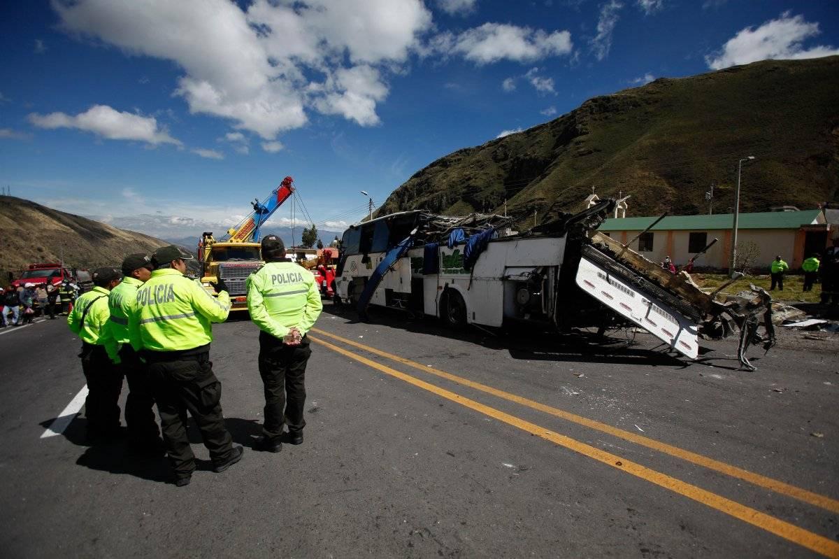 Nueve ecuatorianos viajaban en trooper de accidente de Papapallacta, según familia EFE