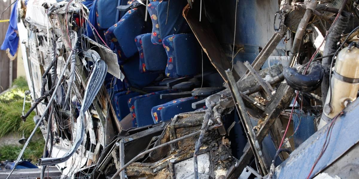 Bus colombiano que se accidentó en Ecuador transportaba 80 kilos de cocaína