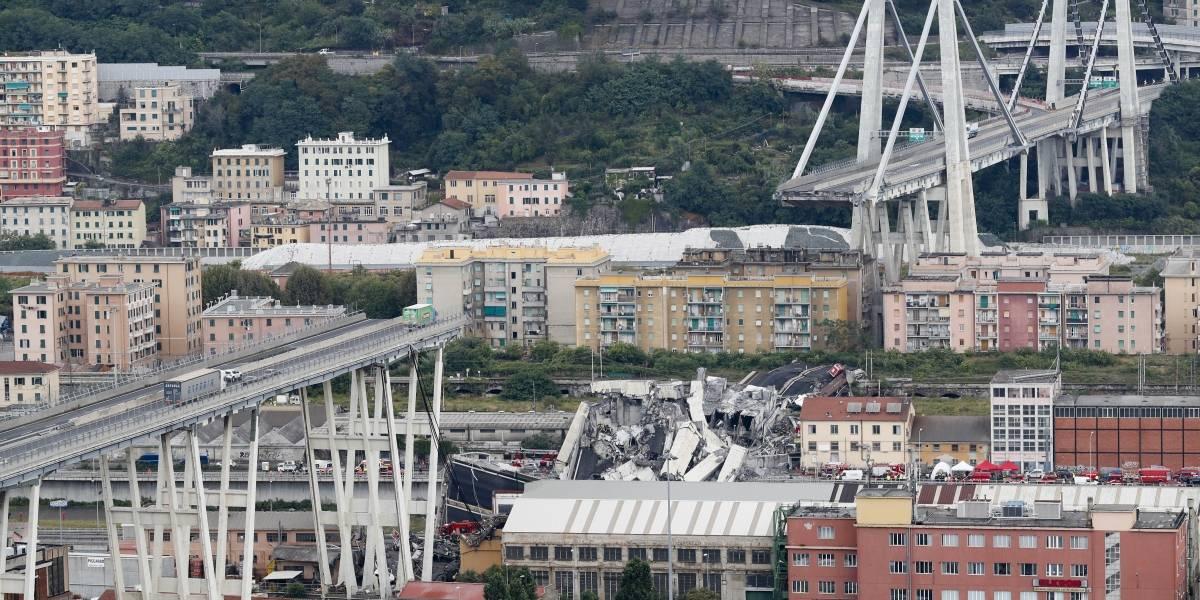 Colapso de puente en Génova: Cancillería lamentó deceso de chilenos en Italia y presta apoyo a familiares