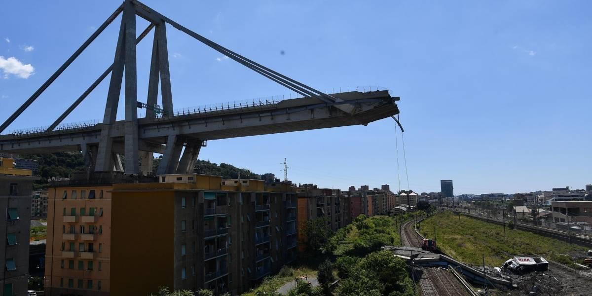 La tragedia en Italia continúa: colapso de puente en Génova dejó a 632 personas sin hogar