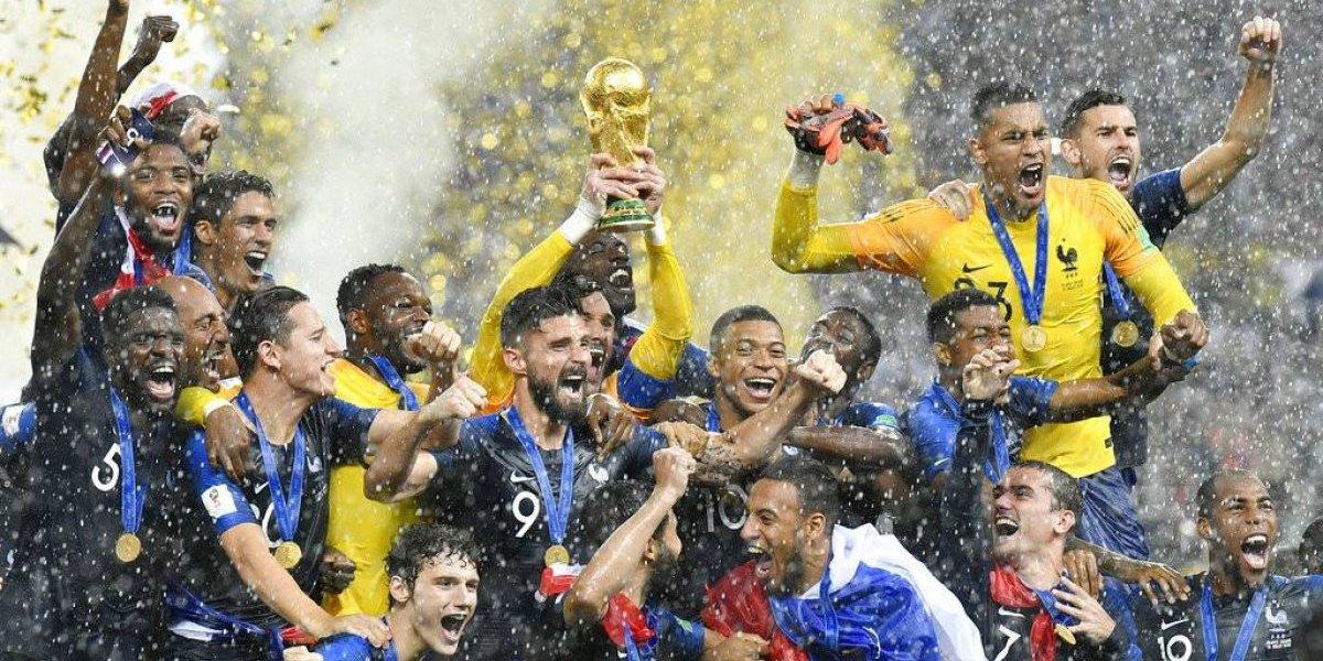 Campeón mundial Francia lidera la clasificación de la FIFA