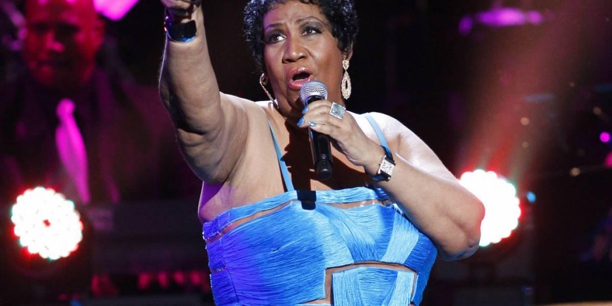 Música de Aretha Franklin vuelve a las listas de popularidad