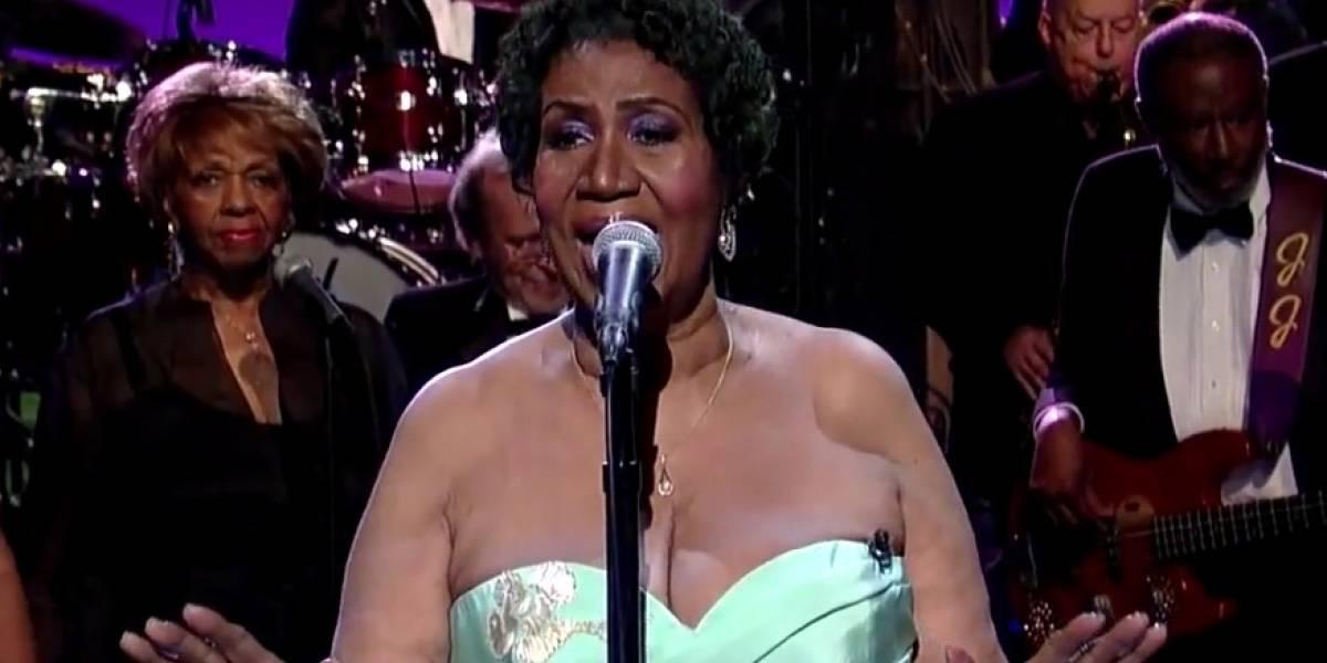 Este es el momento donde Aretha Franklin homenajeó a Adele