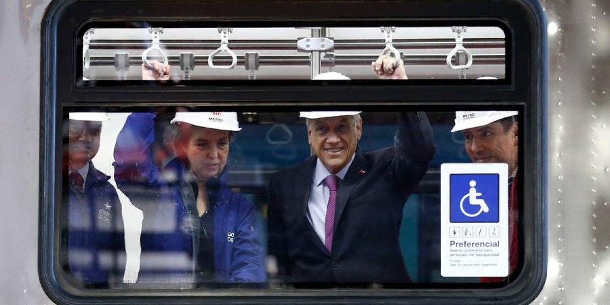 """""""El conductor hace bastante poco"""": la polémica frase del Presidente Piñera que indignó a los conductores del Metro"""
