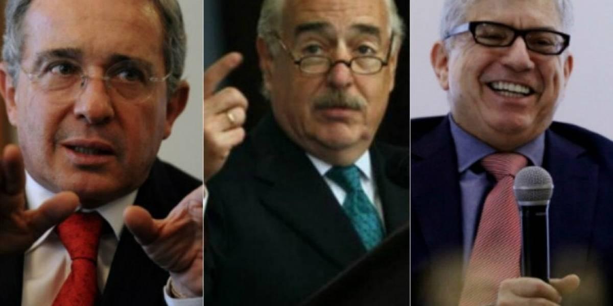 Uribe, Pastrana y Gaviria: la histórica reunión que comparan con el Frente Nacional