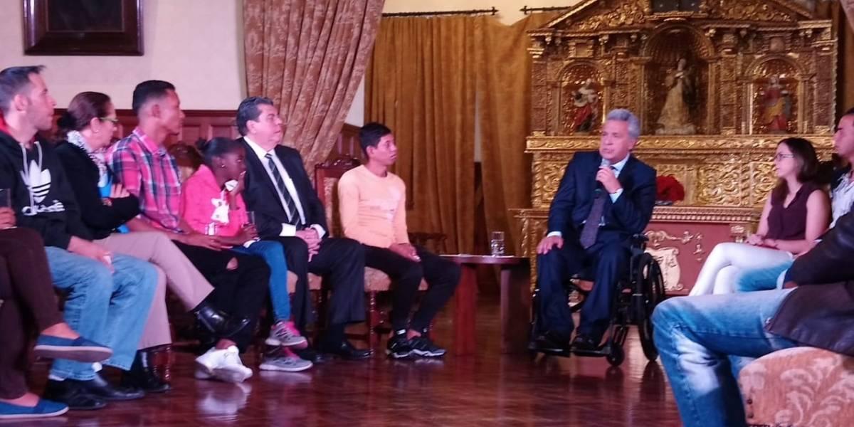 Lenín Moreno recuerda que Ecuador acoge a 250.000 venezolanos pese a dificultades