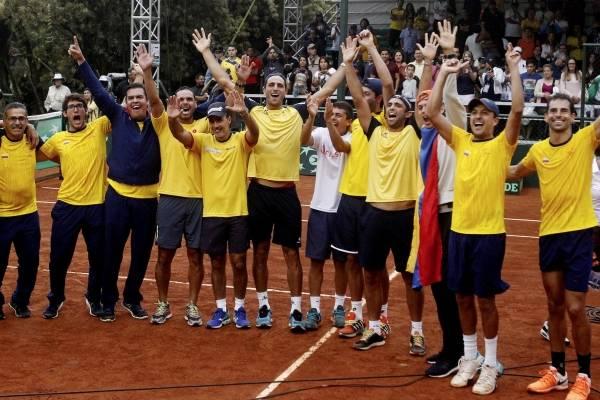 Suecia será el rival de Colombia en Copa Davis