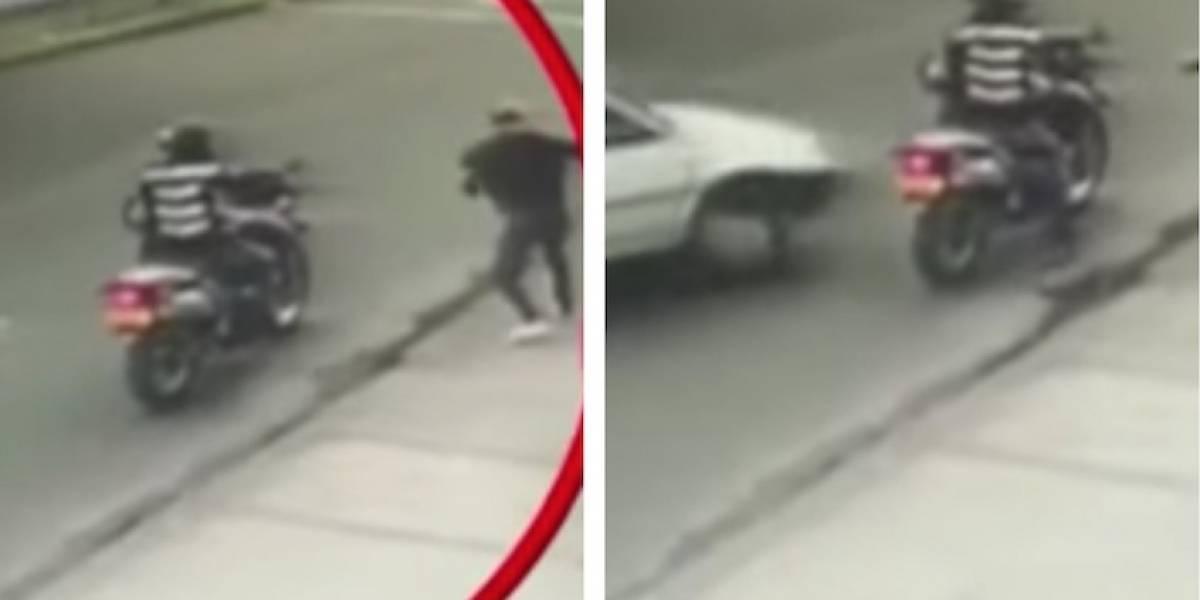 Revelan rostros de ladrones arrollados cuando intentaban escapar en Bogotá