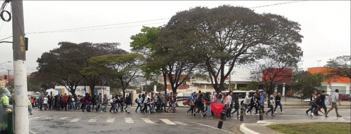 Protesto estudantes São Mateus