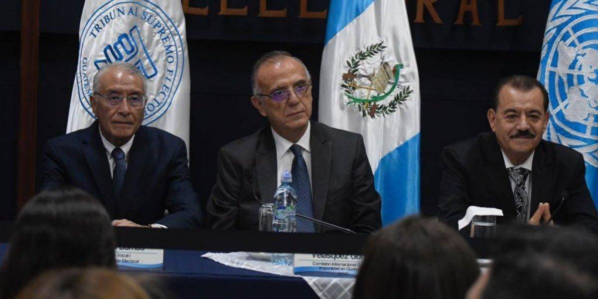 Tribunal Supremo Electoral lamenta actitudes de Guatemala Inmortal sobre convenio con CICIG