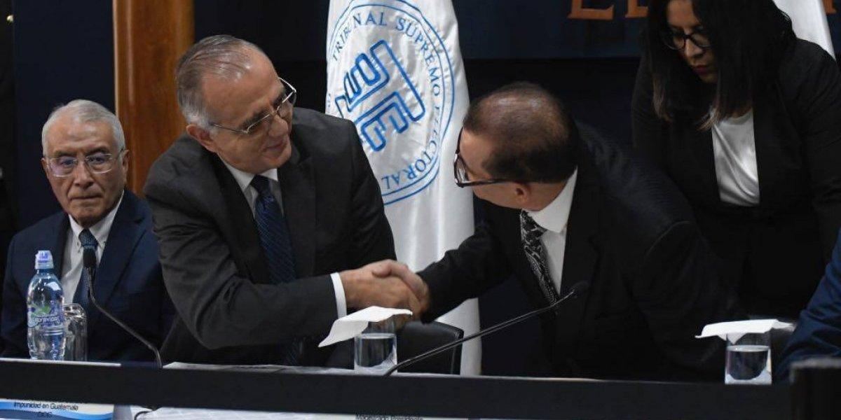TSE y CICIG unen esfuerzos para la transferencia de capacidades en el marco del proceso electoral