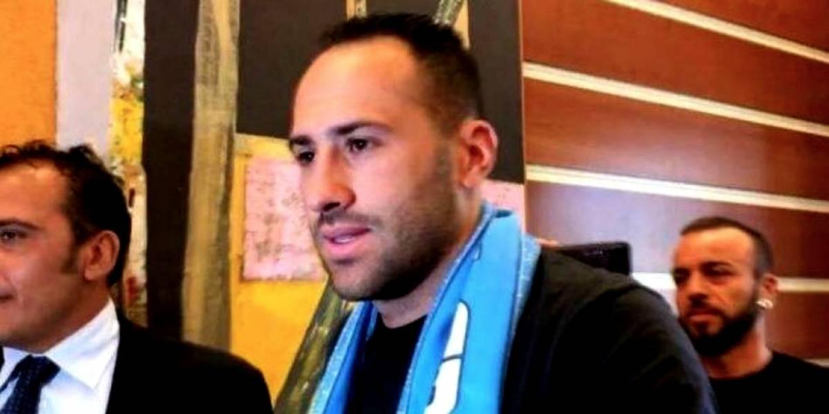 David Ospina llega al Napoli a presentar pruebas médicas