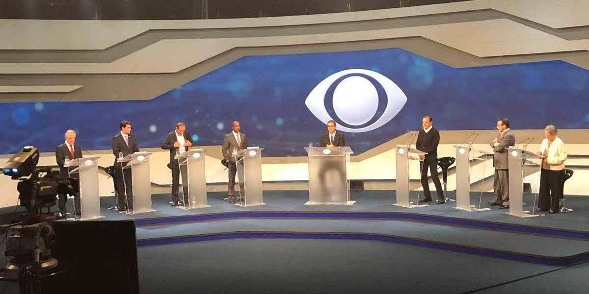 Debate na Band: Assista ao vivo debate dos candidatos ao governo de São Paulo