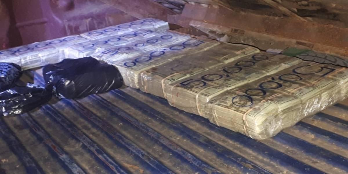 Decomisan droga y 400 mil dólares en operativo en Huehuetenango
