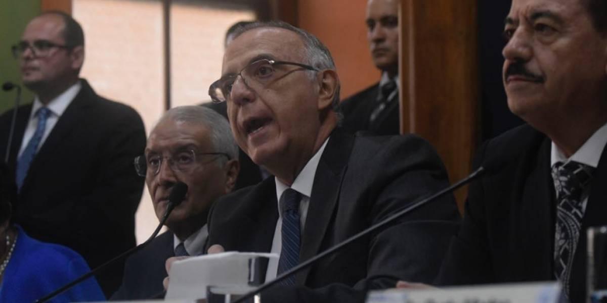 Iván Velásquez se pronuncia sobre falta de agentes para operativo contra la corrupción