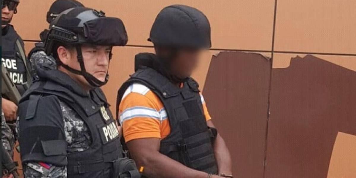 """Capturan en Ecuador alias """"lanchero"""", hombre de confianza de """"Guacho"""""""