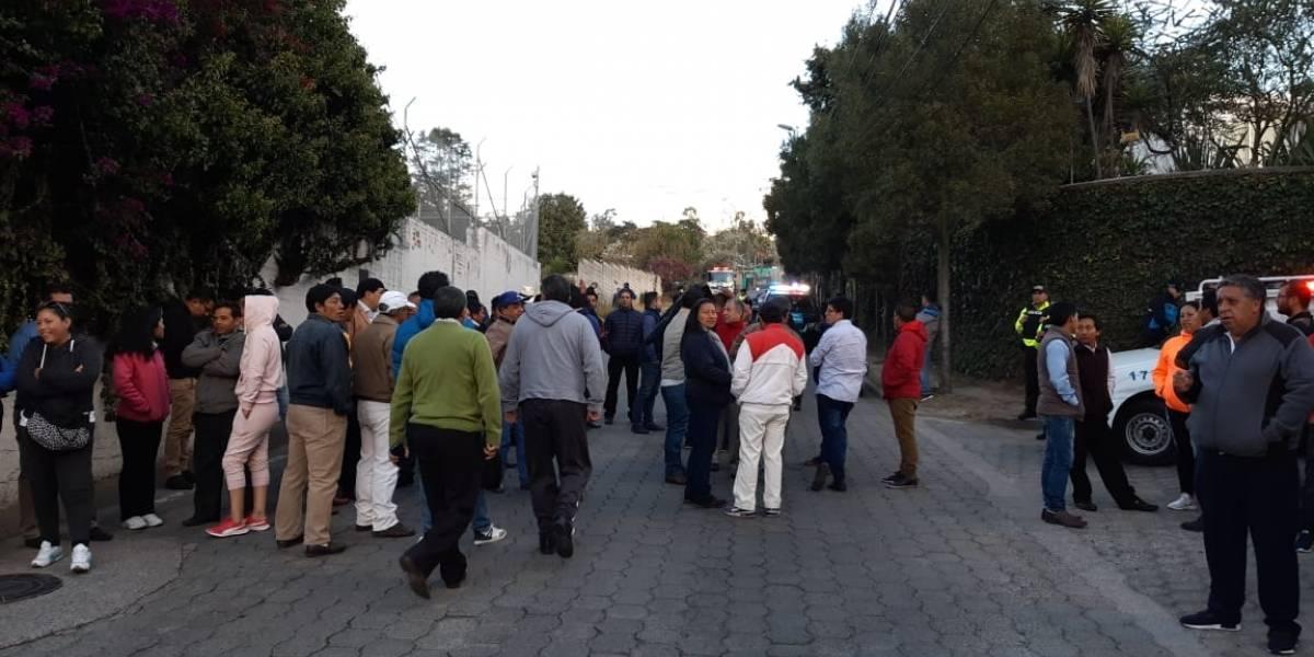 Mauricio Rodas, alcalde de Quito, rechazó que taxistas protesten afuera de su casa