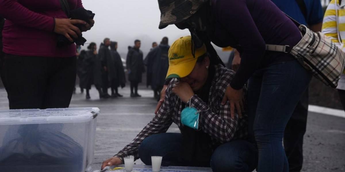 Norma Ascón aún clama por ayuda para rescatar los restos de sus familiares