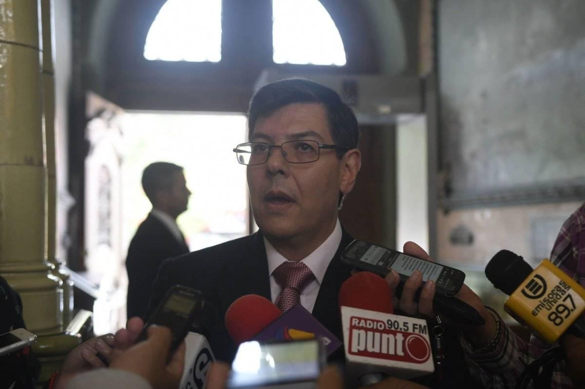 Óscar Sagastume está a cargo de la Inspectoría General del TSE. Foto: Omar Solís