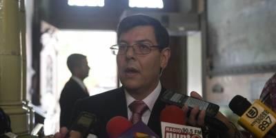 Óscar Sagastume, inspector general TSE
