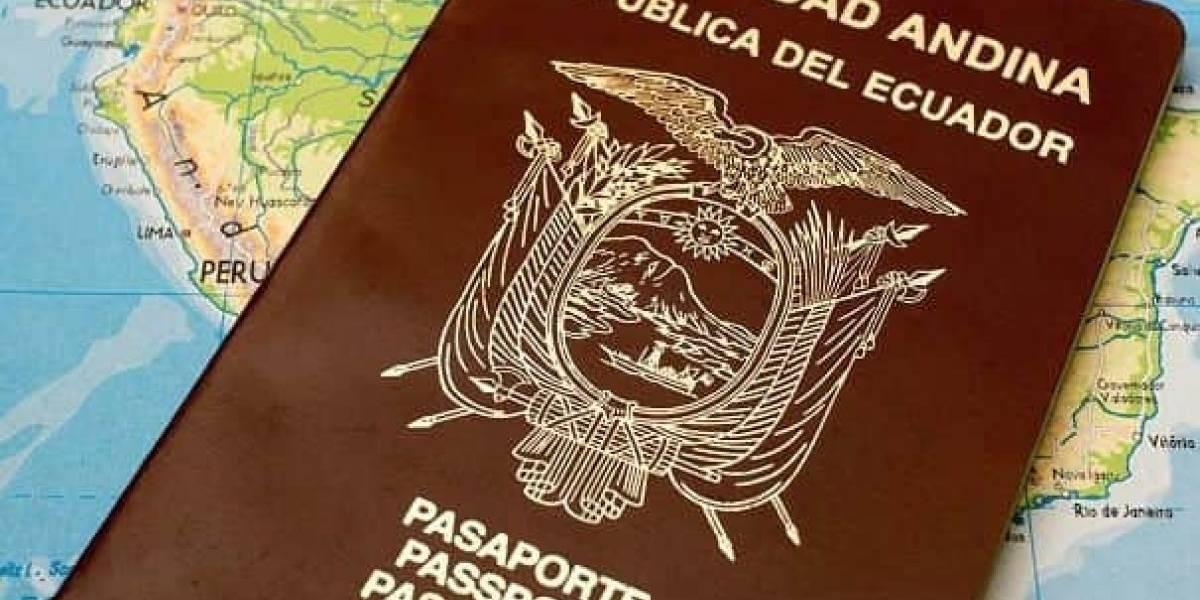 Extranjeros deberán presentar pasaporte para ingresar a Ecuador