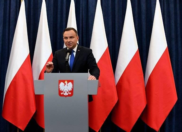 Andrzej Duda, presidente de Polonia