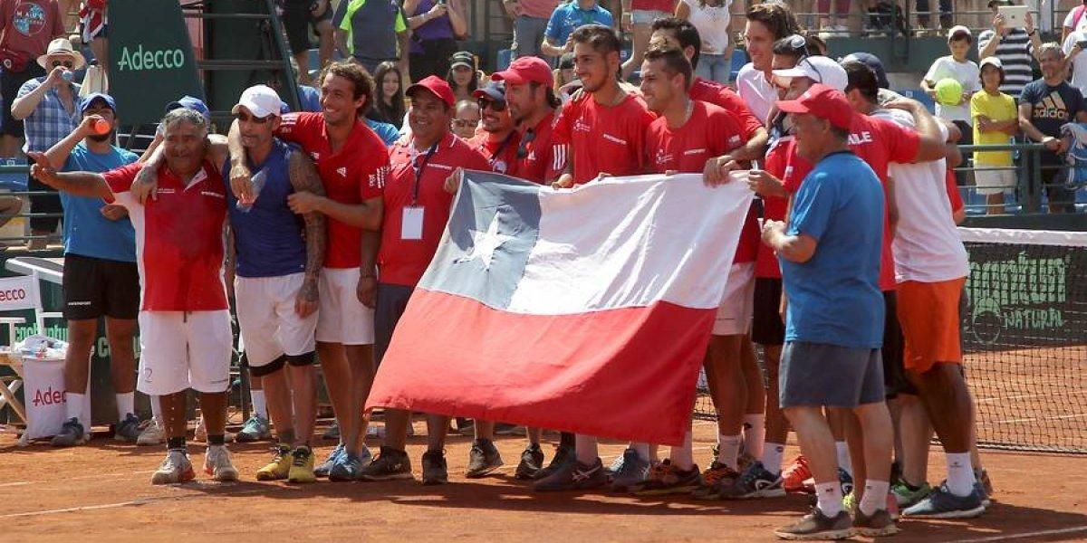 ¿Dónde jugará Chile en la nueva Copa Davis de 2019?