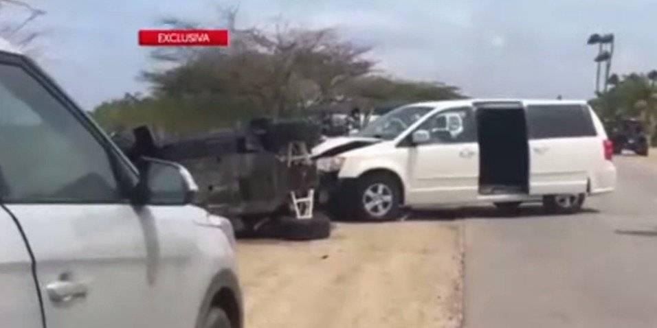 imagen accidente niña boricua y su familia en Aruba