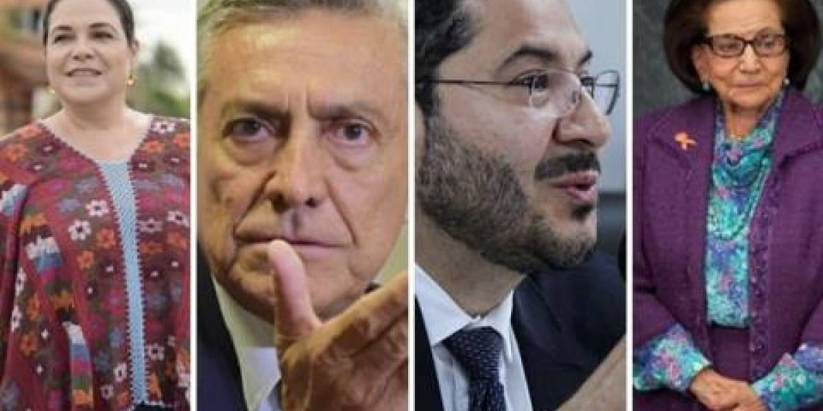 Estos son los 4 personajes que buscan presidir el Senado