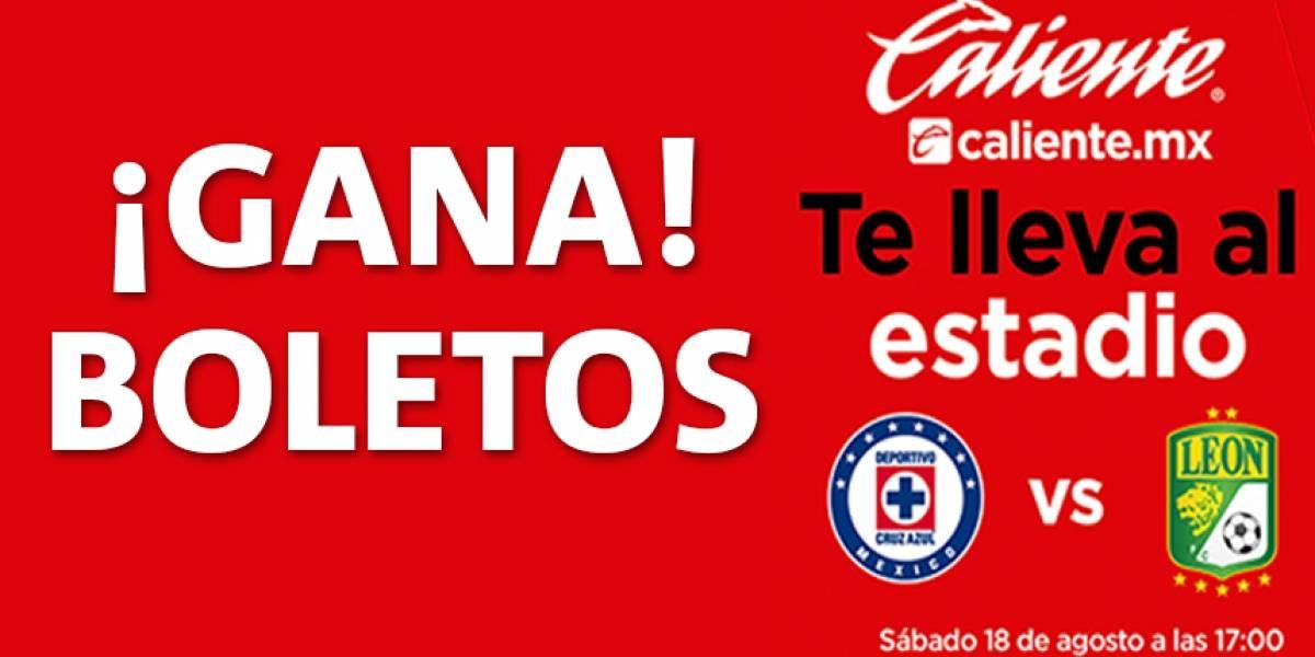 ¡Gana! boletos Cruz Azul vs León