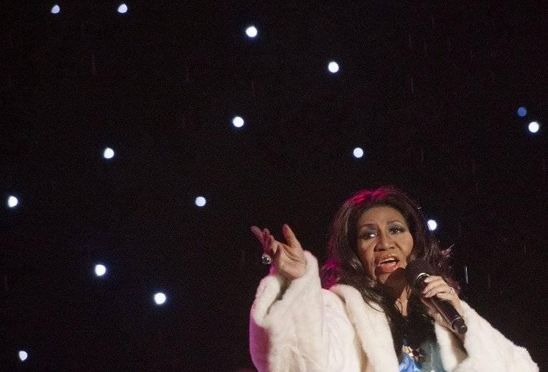 Aretha Franklin en concierto