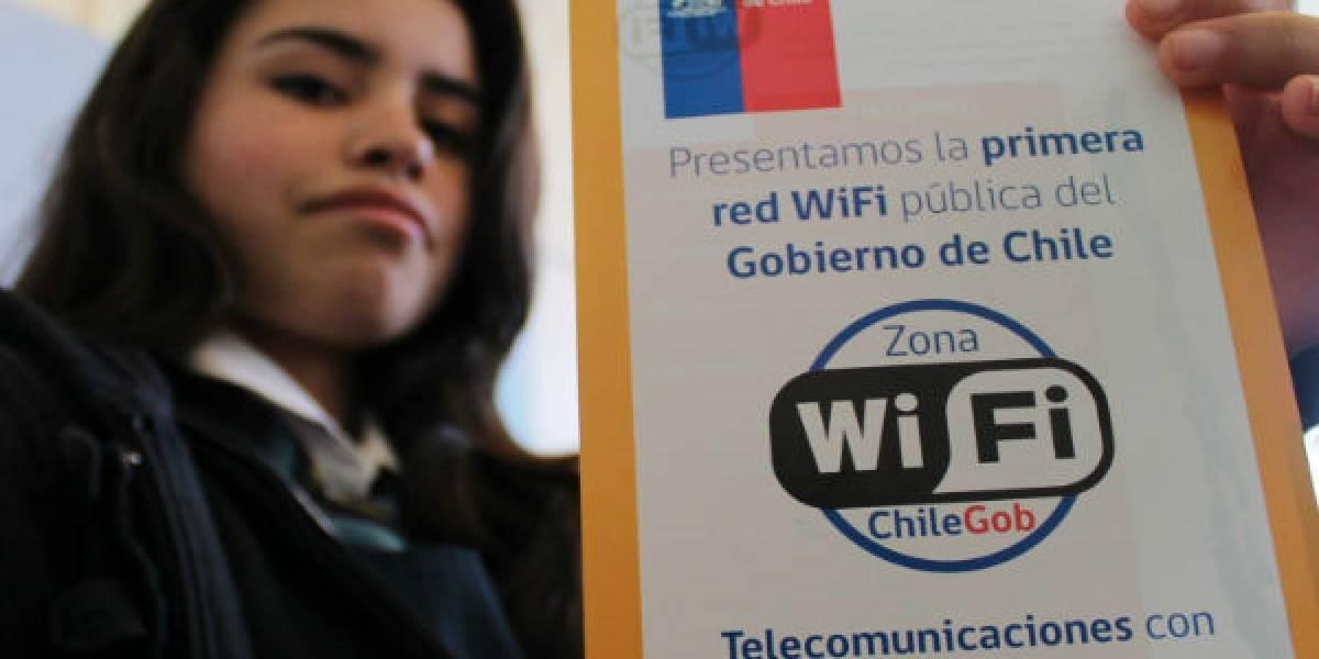Estos son los nuevos 10 puntos con WiFi gratis en la comuna de Santiago