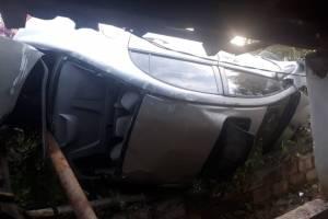 Dos agentes de PNC mueren en accidente en Jutiapa