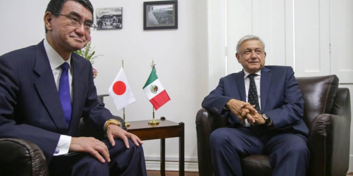AMLO recibe a ministro de Relaciones Exteriores de Japón