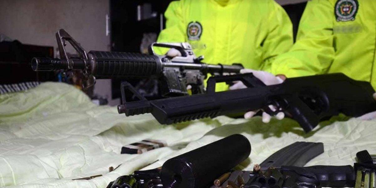 Así descubrieron la forma en la que delincuentes transportaban armas en Medellín